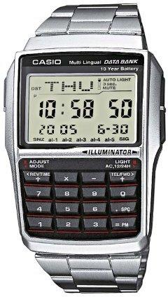 Casio (カシオ) - [カシオ]CASIO 腕時計 データバンク 海外モデルDBC32D-1ADF ブラック×シルバー[逆輸入]